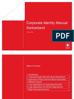 Switzerland - Corporate Identity Manual
