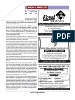 NCM - News Briefs August 2020