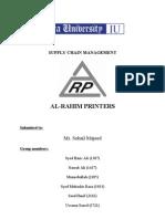 Al Rahim Printers - Supply Chain Management