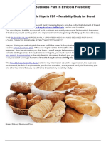 2018 Bread Bakery Business Plan in Niger-converted
