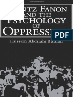 (Bulhan) Frantz Fanon and the Psychology of Oppression (1)