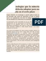 Cinco tecnologías que la minería peruana debería adoptar para no ser afectada en el corto plazo.docx