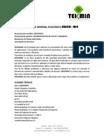 ABSORMIN - Ficha Tecnica