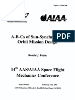 A-B-Cs of Sun-Synchronous JPL