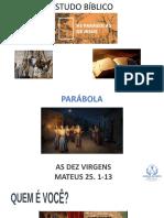 PARABOLA DAS DEZ VIRGENS