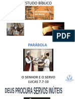 Parabola do SENHOR E O SERVO