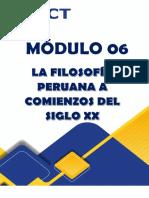 LA FILOSOFÍA PERUANA A COMIENZOS DEL SIGLO XX
