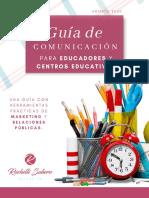 Guía de comunicación para educadoras y centros educativos