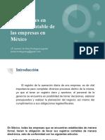 Normatividad de la contabilidad en México