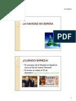 LA NAVIDAD EN ESPAÑA [Modo de compatibilidad]