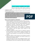تقرير مادة الاستقرارية النموذج النهائي