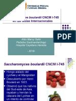Saccharomyces guias clínicas