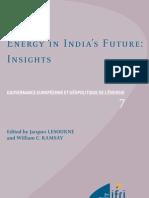 Energy in India's Future