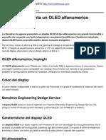 Densitron Presenta Un OLED Alfanumerico