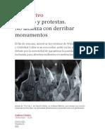Racismo y protestas. No alcanza con derribar monumentos - Andrea Giunta