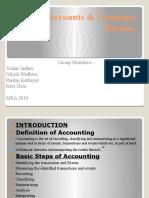 Final Accounts & Company Review