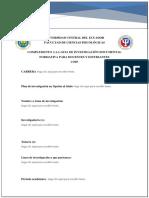 Complemento de la Guía Plantilla Plan de investigación
