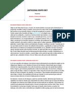 ANTIGONA EDIPO REY- Romano e historia del derecho