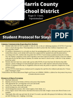 HCSD Student Protocol for Staying Healthy