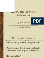 History and Theories of Nationalism by Rob Kevlihan