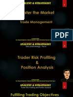 Trader Risk Profiling and Position Analysis -part 1