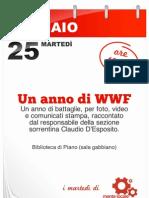 I martedì di MenteLocale - 25 gennaio UN ANNO DI WWF con Claudio D'Esposito - ore 18 biblioteca Piano di Sorrento