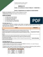 Sectorización y Organización en Equipos de Salud Familiar