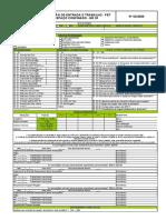 PERMISSÃO DE ENTRADA E TRABALHO - PET NR33 - 2