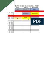 Horario Oficial- Ingenieria Sanitaria-2020 1