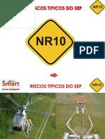 RISCOS TIPICOS DO SEP - NR 10