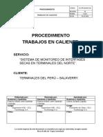 ECJ-PR-SSOMA-003 Procedimiento para trabajos en caliente. Rev.00