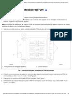 FTL 54.29.100 Retiro e instalación del PDM