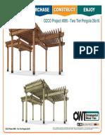 OZCO Project #895 - Two Tier Pergola 26x16