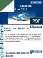 Exposicion Agencia de Aduanas