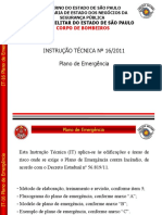 13 - IT 16 Plano de Emergencia e IT 44 Protecao ao meio ambiente