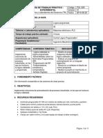 FGL 029 Guía de Trabajo Práctico Experimental 002_Lógica programada