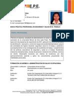 HOJA DE VIDA PRÁCTICAS PROFESIONALES COLA