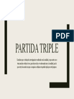 PARTIDA TRIPLE