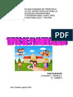 CUADRO SINOPTICO TIPOS DE PLANIFICACION