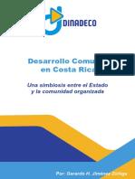 DESARROLLO COMUNAL EN COSTA RICA  UNA SIMBIOSIS