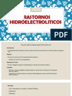 5. Trastornos Hidroelectroliticos