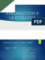 Introduccion a la Ecologia manejo de ecosistemas