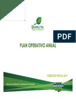 PLAN OPERATIVO ALCALDIA -2017-2017