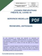 (D-SST-024) ORIENTACIONES FRENTE COVID-19 (Autoguardado)