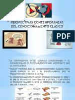 PERSPECTIVAS CONTEMPORANEAS DEL CONDICIONAMIENTO CLASICO