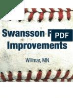 Swansson Field Improvements