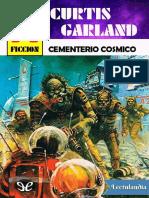 Cementerio cosmico - Curtis Garland