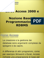 Corso Access Power Point 2003