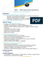 Programme de Formation Wordpress Perfectionnement