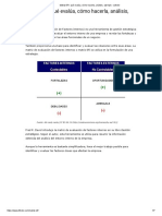 Matriz EFI_ qué evalúa, cómo hacerla, análisis, ejemplo - Lifeder